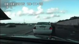 RAW VIDEO: FHP Confrontation on I-75