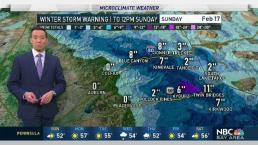 Forecast: Winter Storm Warning Until Midday Sunday