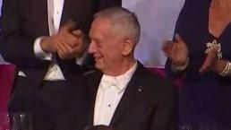 Watch: General Jim Mattis Cracks Trump Joke At Charity Dinner