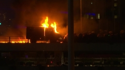 Hong Kong Protesters Fight With Fire as Police Storm University