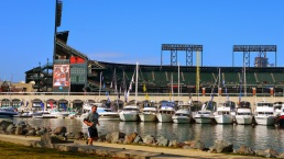 SF Boat Show Docks at McCovey Cove & Pier 48