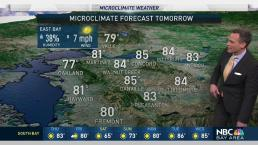 Jeff's Forecast: 80s Thursday and NorCal Showers