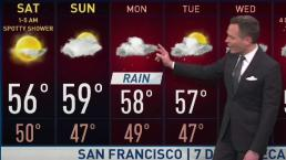 Jeff's Forecast: Dry Weekend; More Rain Ahead