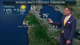 Jeff's Forecast: Cool 60s to Warm 90s