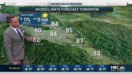 Jeff's Forecast: Hazy Warm Saturday