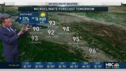 Jeff's Forecast: Mild AM and Hot Afternoon Inland