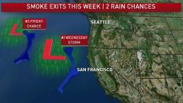 Jeff's Forecast: Smoke Fades As Rain Returns