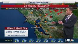 Jeff's Forecast: Smoke Forecast and Rain May Help