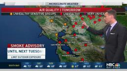Jeff's Forecast: Unhealthy Smoke and When It Could Clear