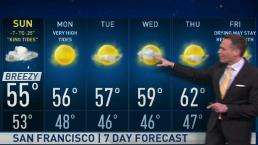 Jeff's Forecast: Sunday Rain Chance