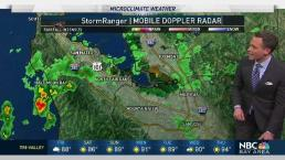 Jeff's Forecast: T-Storms Near Bay Area