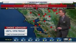 Jeff's Forecast: Unhealthy Air