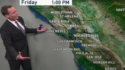 Jeff's Forecast: Warmer Into Weekend