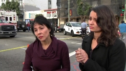 RAW: Two Survivors of Deadly Warehouse Fire Describe Scene