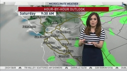 Vianey's Saturday Forecast: Partly Cloudy skies