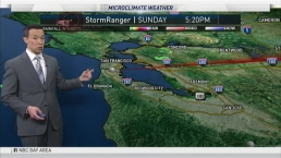 Rob Mayeda's Forecast: Scattered Showers Across the Bay Area