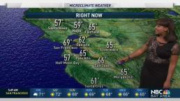 Kari's Forecast: Comfortable Coastal Temps