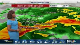 Kari's Forecast: Brief Heavy Rain