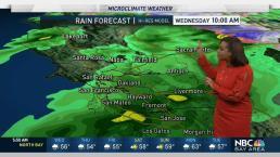 Kari's Forecast: Spotty Rain Through This Evening