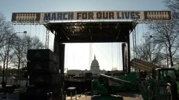 """Thousands Gather for """"March For Our Lives"""""""