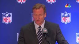 Goodell: 'Everyone Should Stand for the National Anthem'