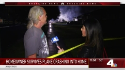 Riverside Homeowner Escapes Plane Crash