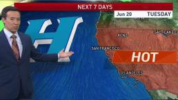 Rob's Forecast: Blistering Sunday on Tap