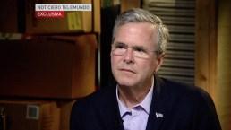 Jeb Bush Gives Spanish-Language Interview