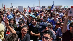 Protestors March for Migrant Kids & Their Families
