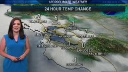 Vianey's Forecast: Possible Drizzle Near the Coast and Bay