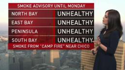 Vianey's Forecast: Smoke Advisory Still in Effect