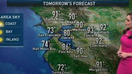 Vianey's Weather Forecast: Warm Temperatures Return Sunday