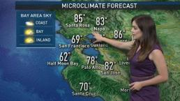 Vianey's Forecast: Cool Start to Week