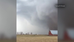 Video Shows Tornado Forming in Washburn