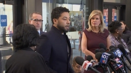 WATCH: Jussie Smollett Speaks After Charges Dropped