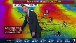 Jeff's Forecast: Windy Fire Warning