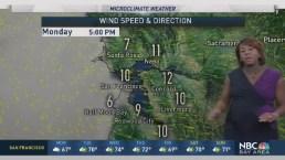 Kari Hall's Monday Forecast: Hot Inland this week