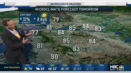 Jeff's Forecast: Sunny 70s and 80s; NorCal Weekend Showers