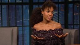 'Late Night': Kerry Washington's Broadway Play Is Super Intense