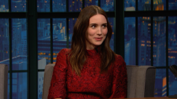 Rooney Mara Attended Football Games in Sunday Best