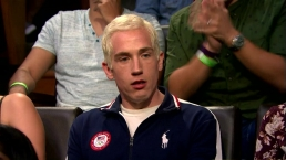 'Late Night': Lochte Fan Interrupts Meyers