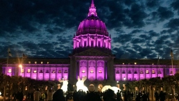 Prince's Purple Shadow in San Francisco, Oakland