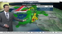 Mild Midweek Temps, Rain Returning Soon