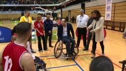 Prince William and Duchess Kate Visit Paralympic Athletes