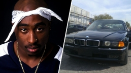 BMW in Which Tupac Was Shot is For Sale