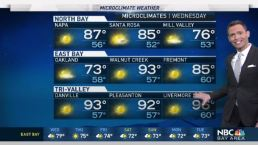 Jeff's Forecast: Microclimate Extremes