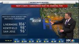 Jeff's Forecast: 60s to 106 Degree Heat