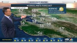Forecast: Warming Ahead, 90s Return to Valleys
