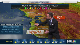 Jeff's Forecast: Much Hotter Ahead