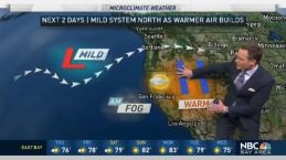Jeff's Forecast: Warming Thursday